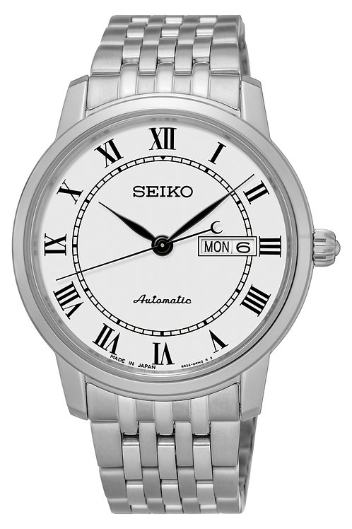 NEW SEIKO PRESAGE SRP761 Sapphire Crystal MADE IN JAPAN