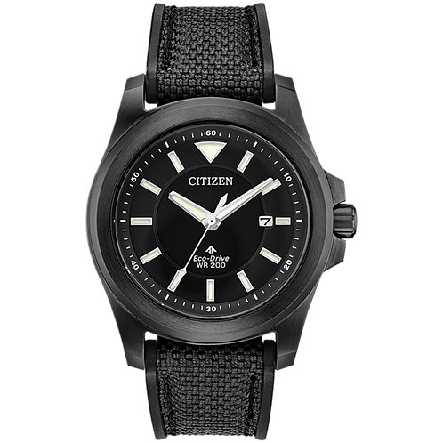 Citizen Eco-Drive - PROMASTER TOUGH Black Steel BN0217-02E