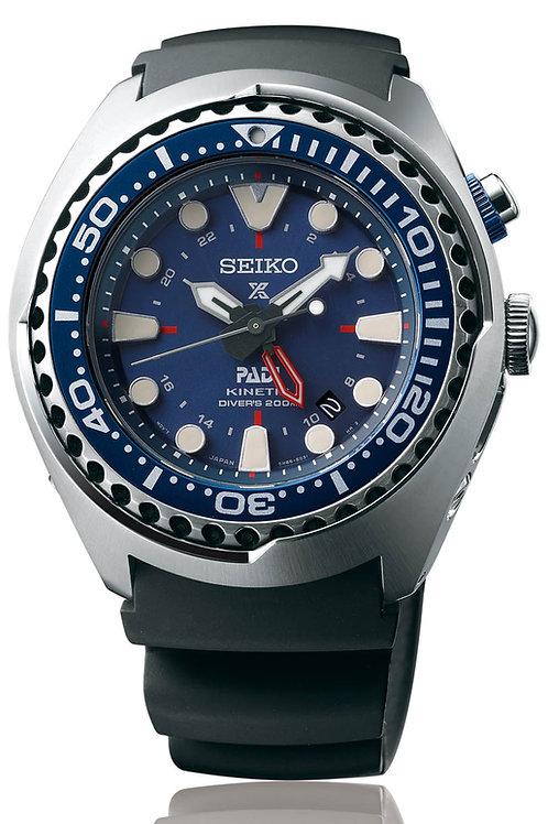 Seiko Prospex Special Edition PADI Kinetic GMT Diver's SUN065