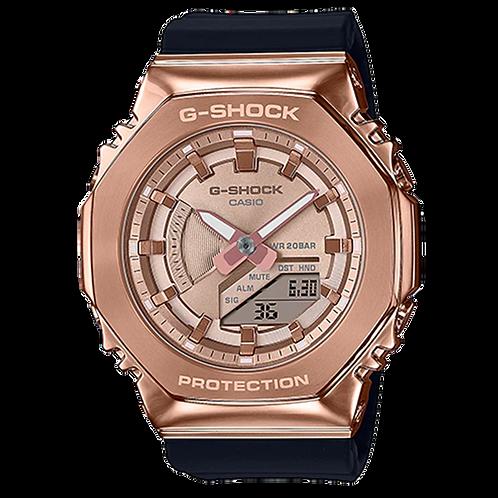 Casio G-Shock - GMS2100 Series - Carbon Square - Rose Gold  GMS2100PG-1A4