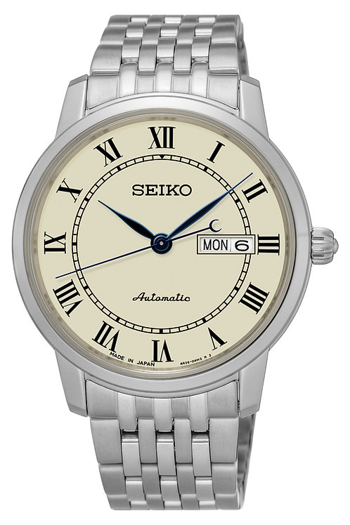 NEW SEIKO PRESAGE SRP763 Sapphire Crystal MADE IN JAPAN