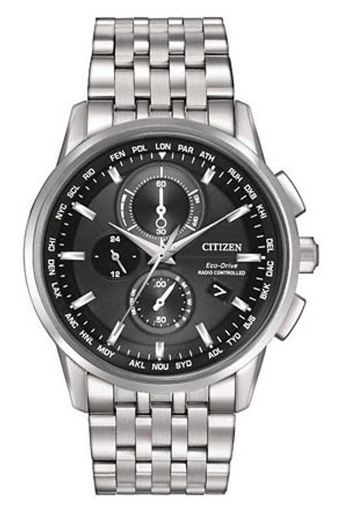 Citizen Eco-Drive World Chronograph A-T AT8110-53E
