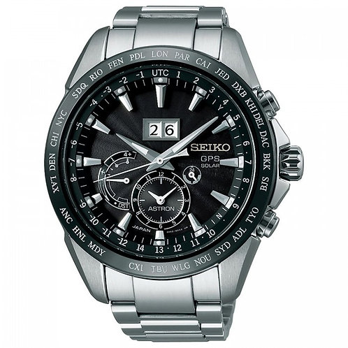 Seiko Astron SBXB149 / SSE149 GPS Solar Big Date  Made in Japan