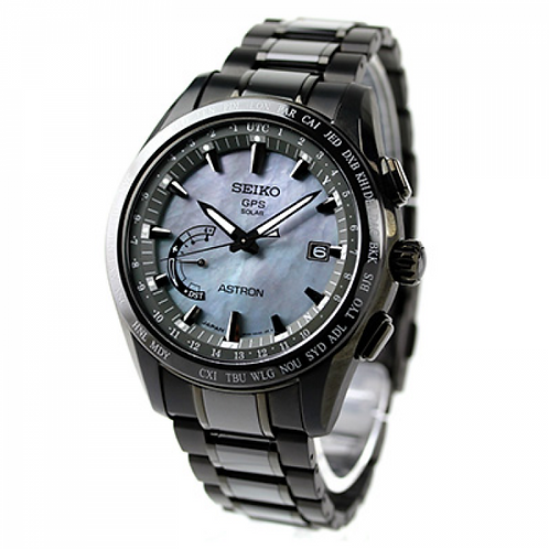 NEW Seiko Astron SSE091 World-Time Titanium Limited Edition
