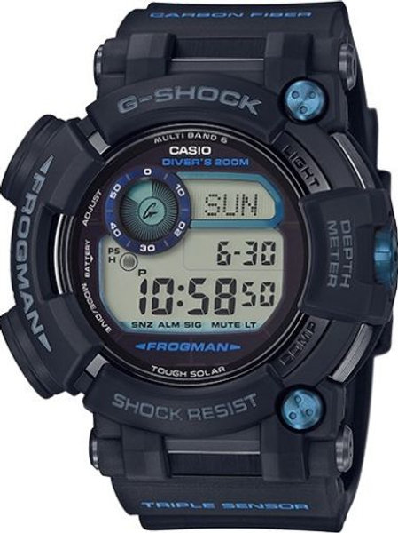 NEW G-Shock GWFD1000B-1 Men's Master of G Frogman