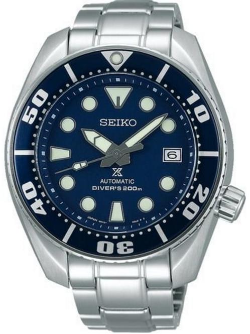 NEW Seiko Prospex SBDC033 Blue 200m Scuba Diver Watch