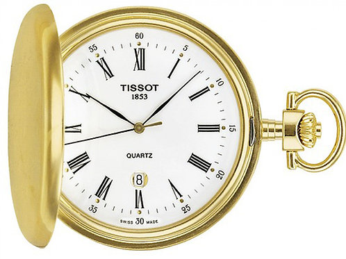 Tissot Savonnette White Dial Pocket Watch T83.4.553.13