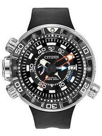 Aqualand Depth Meter Men's Strap Black BN2029-01E