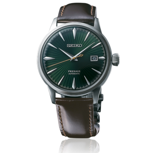 Seiko Presage Automatic Cocktail Time Green Dial SRPD37