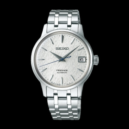 """Seiko Ladies Presage Cocktail Time Limited Edition """"SnowFlake"""" Dial SRP843"""