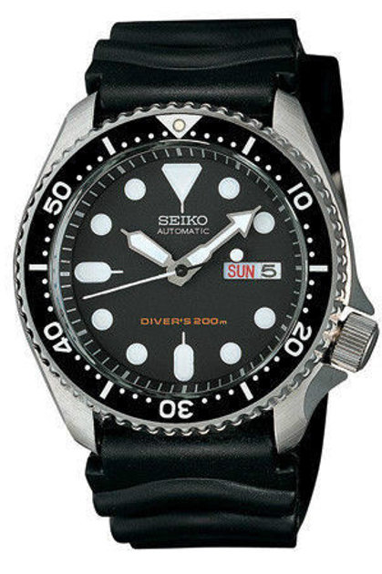 Seiko Men's SKX007 Diver's AUTOMATIC RUBBER 200M