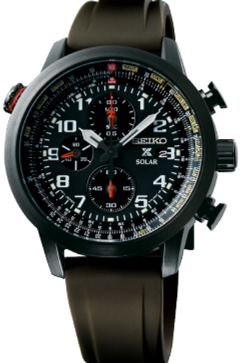 Seiko Prospex Sky Solar Chronograph Pilots SSC353
