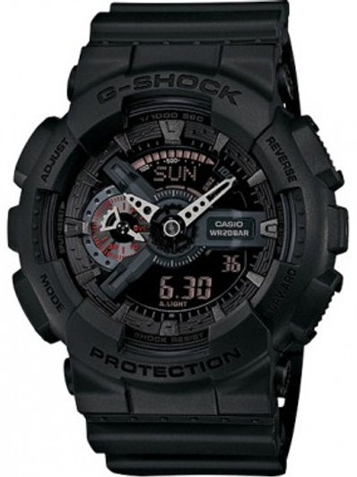 G-Shock Military Watch In Black GA110MB-1A
