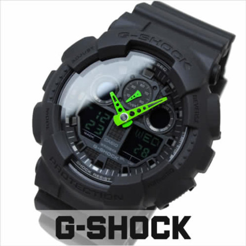 NEW Casio Men's G-Shock GA100C-1A3 Black Resin