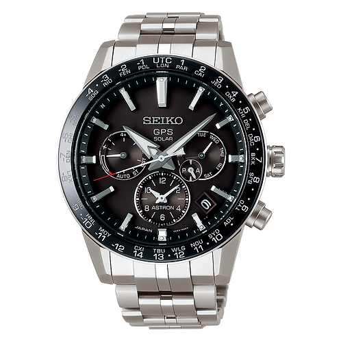 Seiko Astron Watch Caliber 5X Solar GPS SSH003J1 SSH003 SBXC003