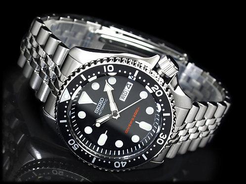 Seiko AUTO 200m Dive watch Jubilee STEEL SKX007