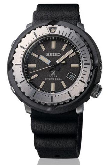 "Seiko Prospex - Solar ""Tuna"" Dive Watch ""Street Collection"" -Black Dial SNE541"