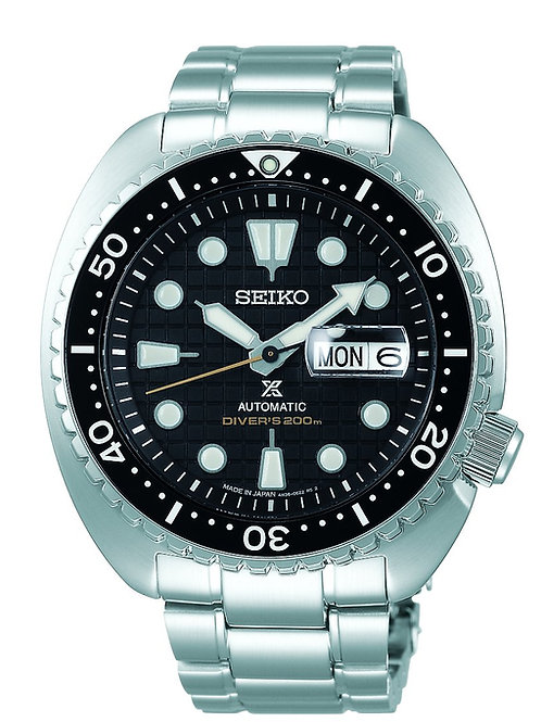 Seiko SRPE03 Diver's 200m ceramic bezel king turtle shappire crystal