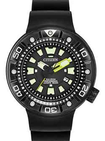 Citizen BN0175-19E Men's Eco Drive Promaster Black