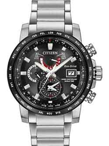 Citizen Eco-Drive World Time A-T AT9071-58E Atomic