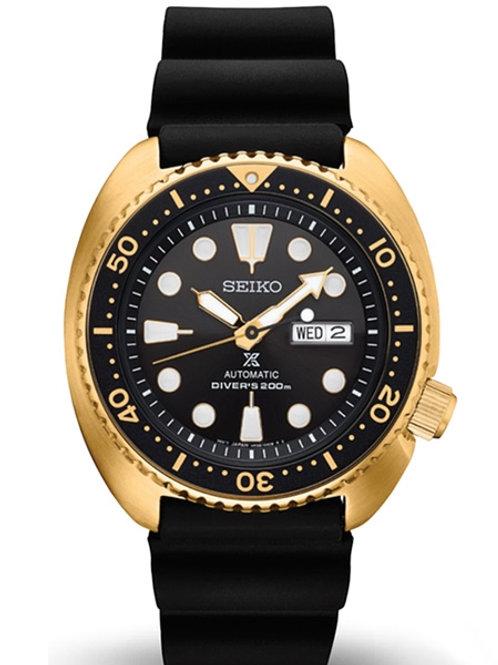 Seiko PROSPEX Turtle Automatic Diver's 200M - Gold Tone SRPC44
