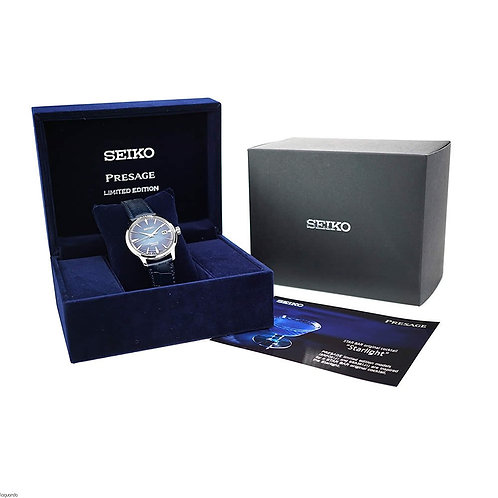 Seiko Presage SRPC01J1 SRPC01 SARY085 Starlight Bar Cocktail Time MADE IN JAPAN