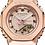 Thumbnail: Casio G-Shock - GMS2100 Series - Carbon Square - Rose Gold  GMS2100PG-1A4