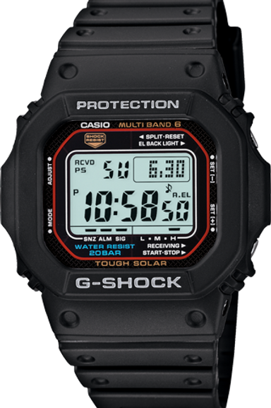G-Shock GW-M5610-1 Tough Solar MB6 Black