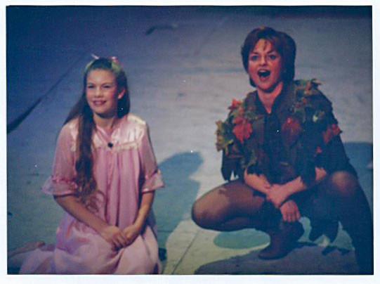 """Peter in """"Peter Pan"""""""