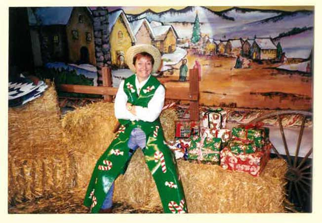 """Candy Cane Sal in """"Holiday Ranch"""""""