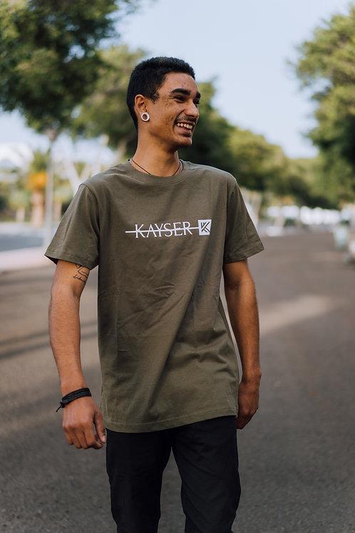 Camiseta Kayser basic Green
