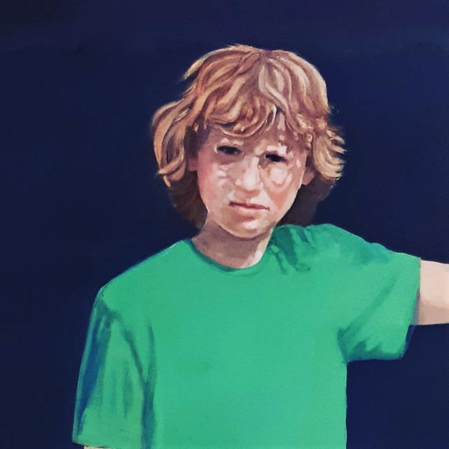 Marcus. 50 x 50cm, oil on canvas