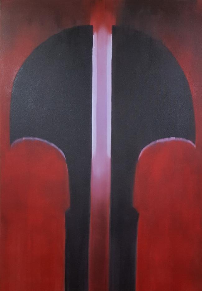 Sentinel. 160 x 120cm, oil on canvas