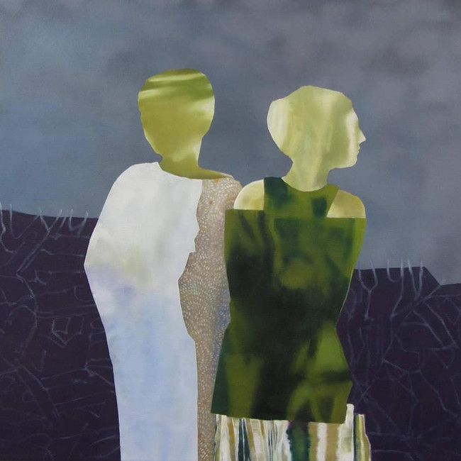 In a Strange Land. 50 x 60cm, oil on canvas