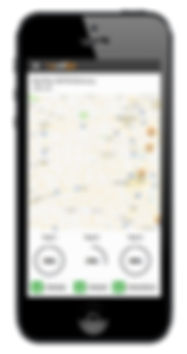 Rig CallOut Truck Tracking Screen iPhone