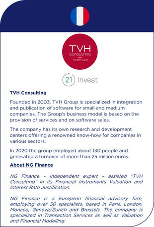 NG Finance assisted TVH Consulting in its development