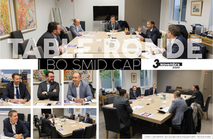 Table ronde : LBO SMID CAP // Novembre 2020