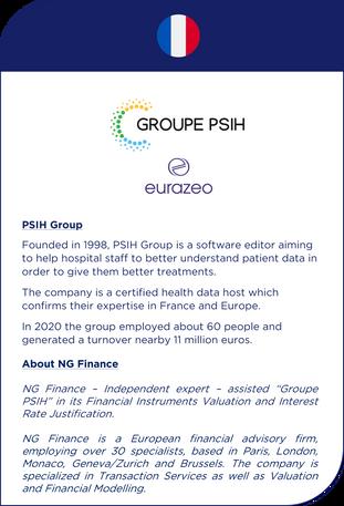 NG Finance a accompagné le Groupe PSIH dans le développement de son entreprise