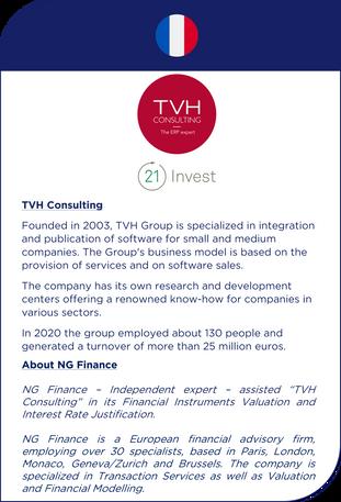 NG Finance a accompagné TVH Consulting dans le développement de son entreprise
