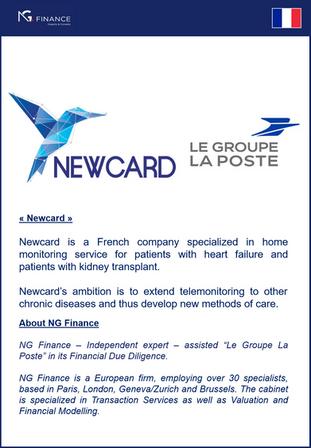 """NG Finance a assisté """"Le Groupe La Poste"""" dans Financial Due Diligence"""