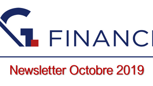 Newsletter d'Octobre 2019