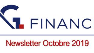 Newsletter d'Octobre 2019
