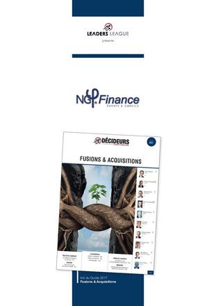 Décideurs 2017 - Guide Capital Investissement 2017 -  NG Finance conforte sa place d'excellence en é