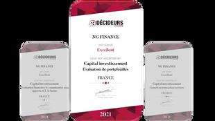Conseil en Transaction Services : NG Finance classé « Excellent » !