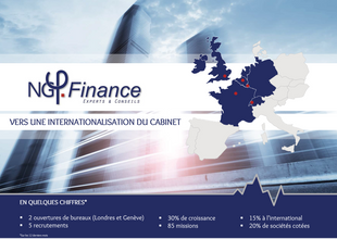 Newsletter NG Finance : vers une internationalisation du cabinet