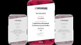 Évaluation de portefeuilles : NG Finance classé « Excellent » !