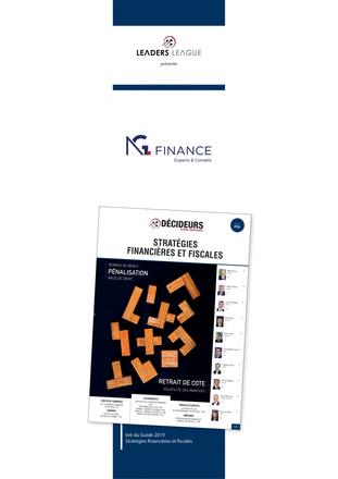 League Tables : NG Finance une nouvelle fois dans les classements du Guide Décideurs - Stratégies Fi