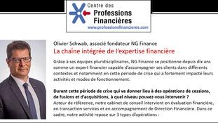 La chaîne intégrée de l'expertise financière