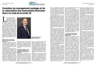 Jacques-Henri Hacquin est apparu dans la dernière édition du Magazine Option Droit & Affaires du
