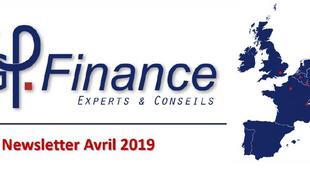 Newsletter NG Finance - Avril 2019